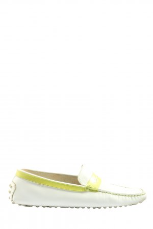 Tod's Moccasins white-primrose casual look