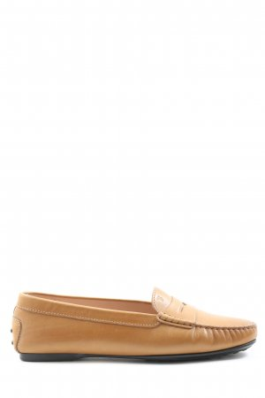 Tod's Moccasins light orange casual look