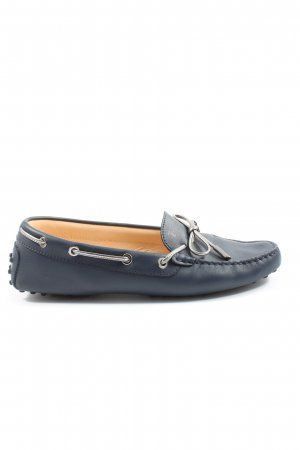 Tod's Mocassins blauw casual uitstraling