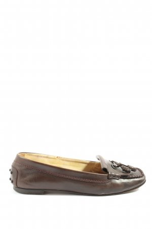 Tod's Moccasins brown casual look
