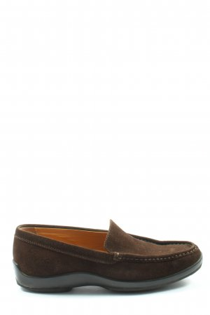 Tod's Mocassins bruin casual uitstraling
