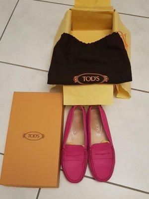Tod's Mokassins pink, Gr. 36, Original inkl. Karton & Staubbeutel