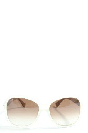 Tod's Lunettes de soleil ovales multicolore style décontracté