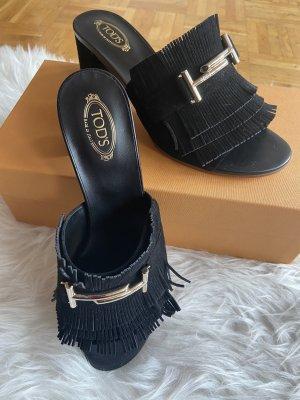 Tod's Sandalen mit Blockabsatz
