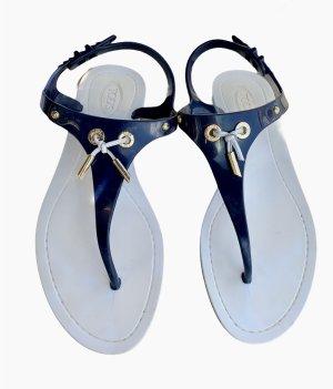 Tods Sandały plażowe ciemnoniebieski-biały