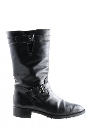 Tod's Stivale militare nero stile casual
