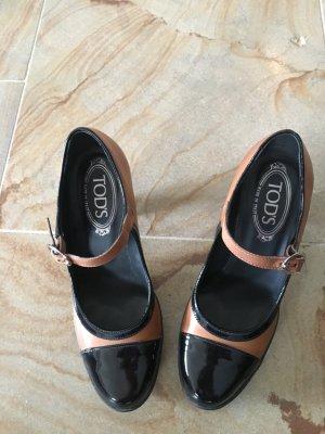 Tod's Schuh Leder und Lackleder