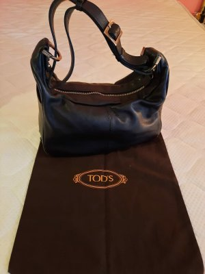 Tod's Schulterbag Leder Schwarz + Dustbag