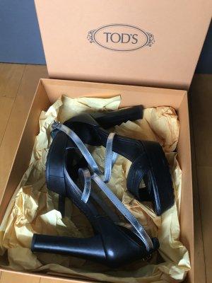 Tod's Schwarze Sandalen