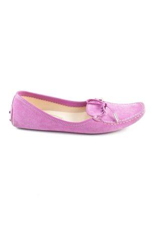 Tod's Zapatos de marinero rosa estilo «business»