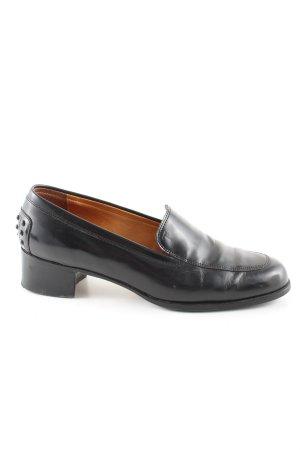 Tod's Pantofola nero stile casual