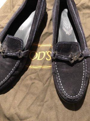 TOD'S Slipper, Größe 36,5, Marine