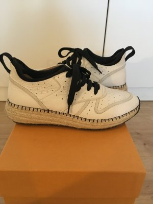 Tod's Lace-Up Sneaker white-black leather