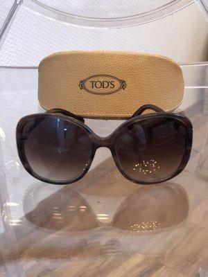 Tod's Gafas Retro marrón oscuro
