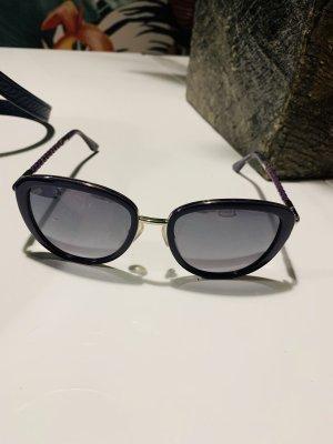 TOD'S Sonnenbrille, lila, tods, Design, Leder Bügel, NP 329€