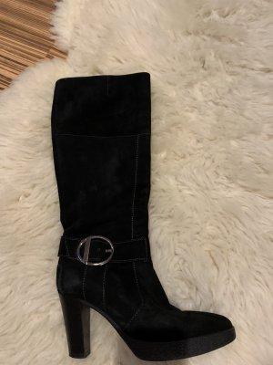 Tod's Stiefel in schwarz