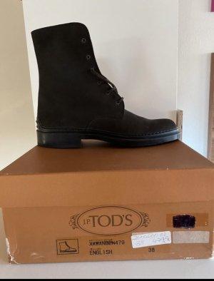 Tod's Stiefletten schwarz Gr.38