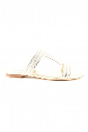 Tod's Beach Sandals nude-gold-colored casual look