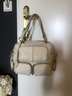 Tod's Tasche in weiß creme