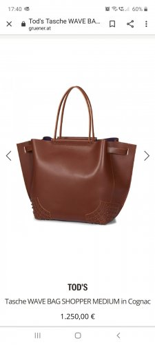 Tod's Wave Bag Shopper
