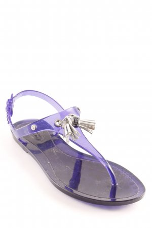"Tod's High-Heeled Toe-Post Sandals ""Flip Flop Napsy """