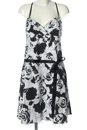 Today Corsagenkleid schwarz-weiß Allover-Druck Elegant