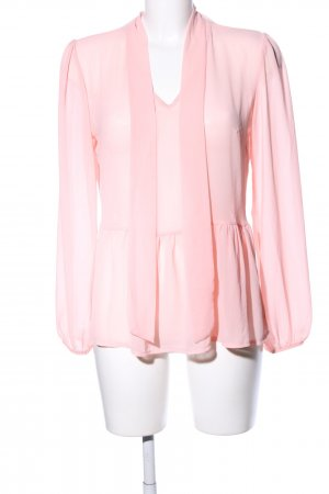 Today Transparenz-Bluse pink Business-Look