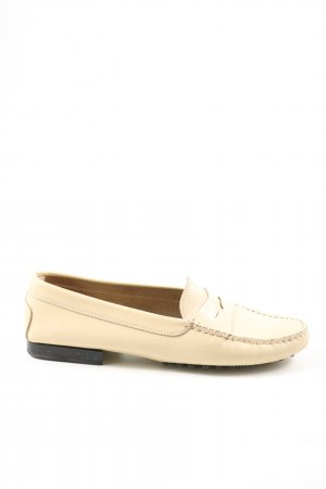 Tods Moccasins cream business style