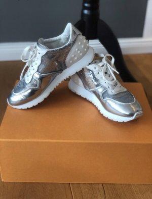 Tods sneaker weiß Silber 35 36 neuwertig tod's