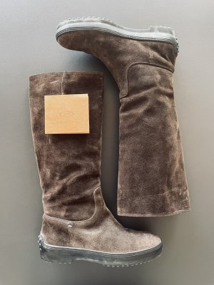 Tods Winter Boots black brown-brown