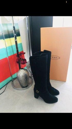 Tod's Botas con tacón negro