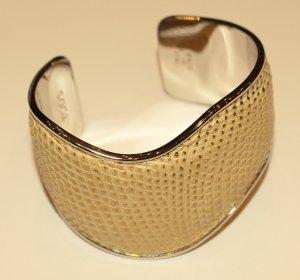 Tod's Brazalete beige-color oro Cuero