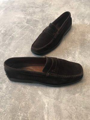 Tod's Slip-on Shoes dark brown
