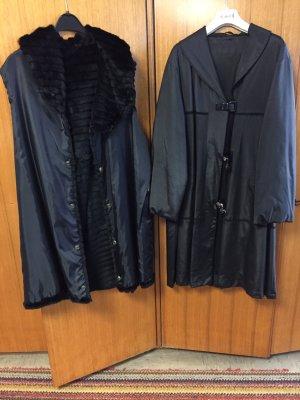 Todschicker Mantel mit extra Innenmantel aus Nerz