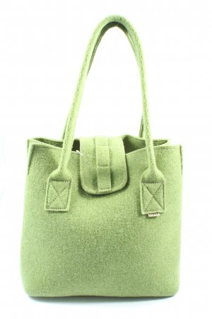 Tofee Borsa di tela verde stile casual