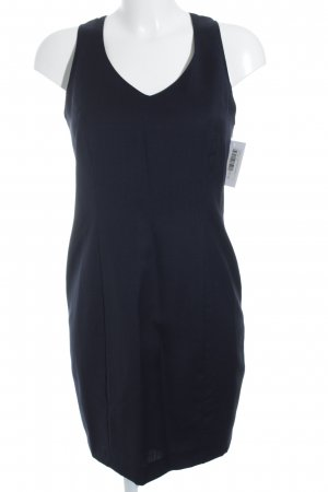 TOFFS! A-Linien Kleid dunkelblau Business-Look
