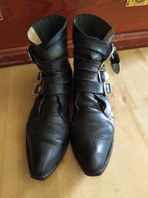 Toga Pulla Western Booties black