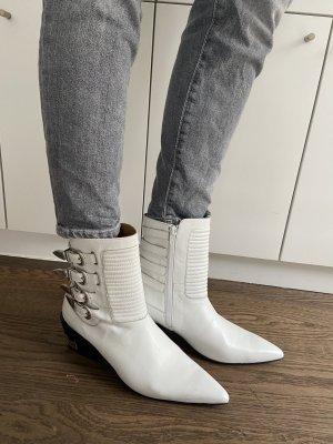 Toga Pulla white Cowboy Boots 40