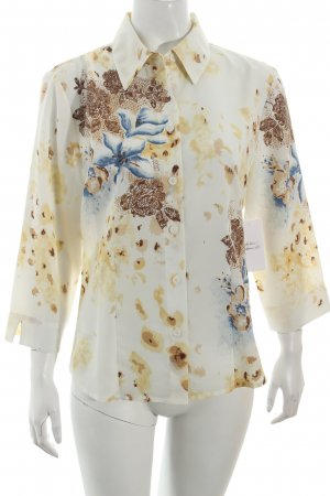 Together Bluse Blumenmuster Street-Fashion-Look