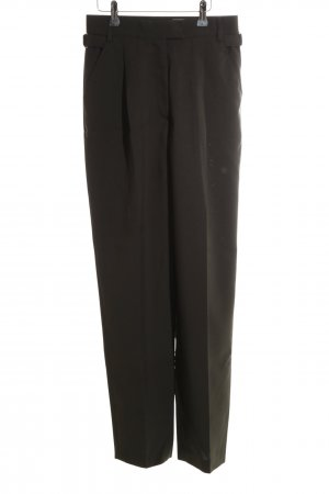 Together Bundfaltenhose schwarz Business-Look