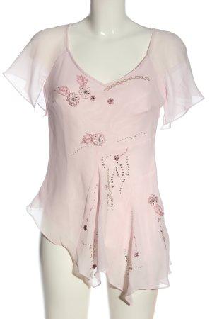 Together Short Sleeved Blouse pink elegant