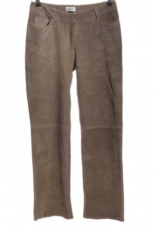 Together Lederhose braun Casual-Look