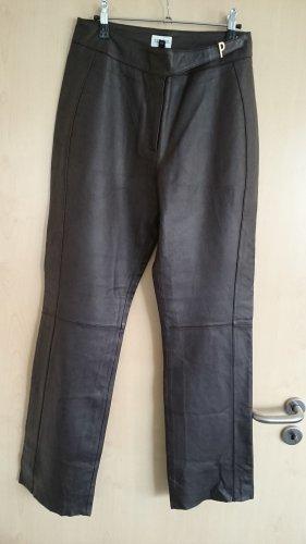 Together Pantalone in pelle marrone Pelle