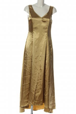 Together Maxi Dress bronze-colored elegant