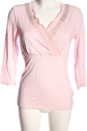 Together Camicetta da notte rosa stile casual