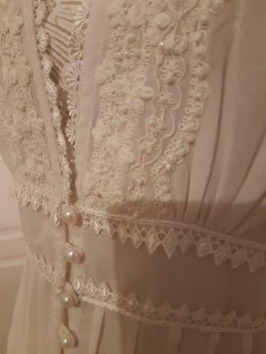 Together Blouse transparente blanc polyester