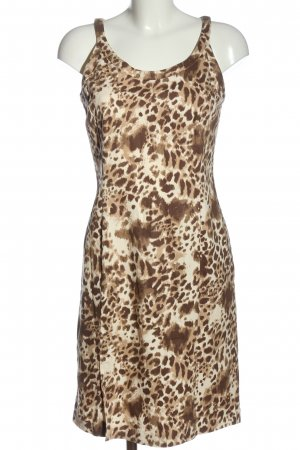 Together Pinafore dress brown-cream allover print extravagant style