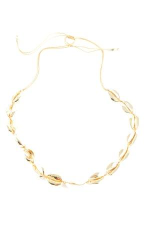 "Tohum Collar de conchas ""Tohum Muschelkette 24 kt. vergoldet"" color oro"