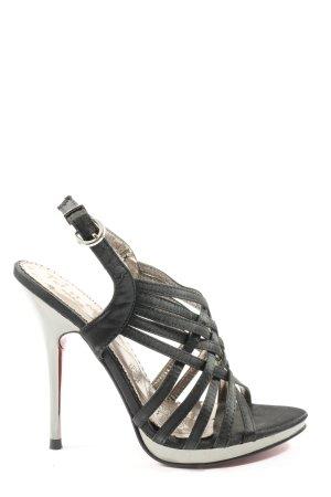 Toi et Moi High Heel Sandaletten schwarz Casual-Look