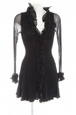 Toi & Moi Blusenjacke schwarz Elegant